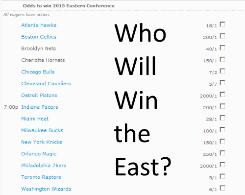 Bet the Eastern Conference Champ