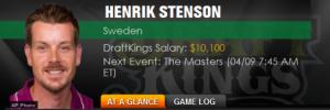 Take Henrik Stenson?
