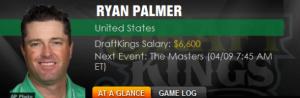 Betting Ryan Palmer